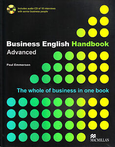 Macmillan-BUSINESS-ENGLISH-HANDBOOK-Advanced-with-AUDIO-CD-Paul-Emmerson-NEW