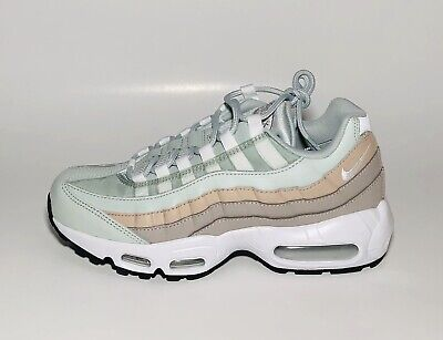 Nike Air Max 95 Light Silver White Moon Particle 307960 018 Size 7.5 | eBay
