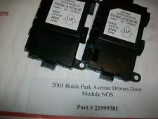 21999381 Dealer Out 2003 Buick Park Avenue Driver Door Module