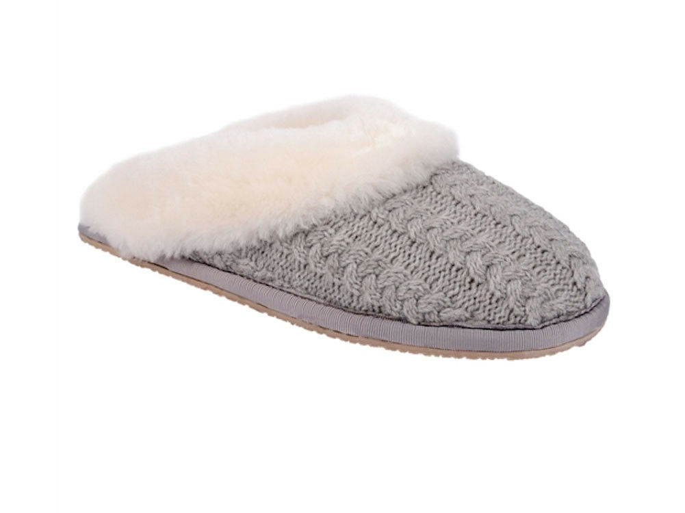 Patricia Green - Cable-knit Scuff Slipper - Vail - Größe 8