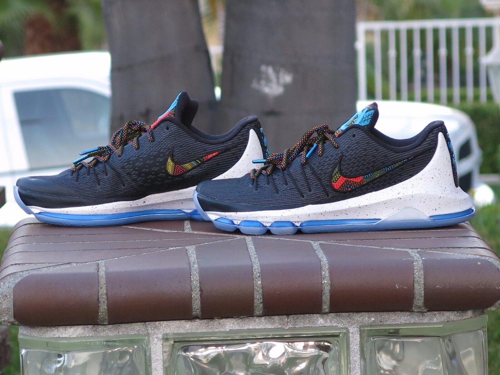 4db1409eacdb ... Nike KD 8 VIII Black History Month Month Month Men s Basketball Shoes  824420-090 SZ ...