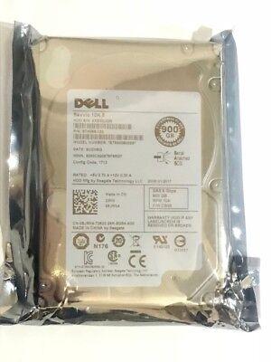 """Dell 900GB 6G 10K 2.5/"""" SAS 8JRN4 08JRN4 HDD ST9900805SS Hard Drive w// R Tray"""