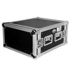 """ProX 6U Space Heavy Duty Amp Rack Mount ATA Flight Road Case, 19"""" Depth T-6RSS"""