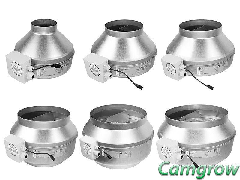 Systemair-K ventiladores ce serie Silent Running ventiladores de hidroponía en línea de calidad