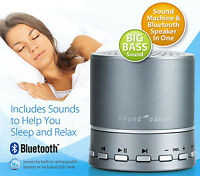 Sound Oasis Bluetooth Sleep Sound Therapy System / Same Day World Wide Shipping
