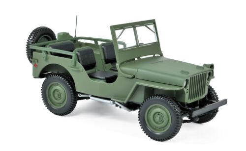 Norev 189013 jeep 1942 verde 1:18 nuevo//en el embalaje original