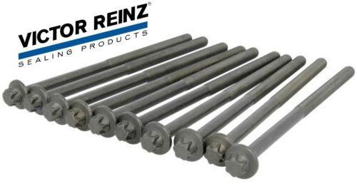 For Mercedes E250 GLK250 Victor Reinz Cylinder Head Bolt Set 651 016 04 69