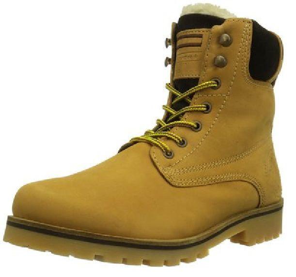 s.Oliver, Herren Winter Stiefel, Boots, Leder, NEU, gelb, Gr. 41