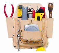 Custom Leathercraft W438 Maintenance Tool Pouch, Top Grain Leather, 6-pocket, Ne on sale