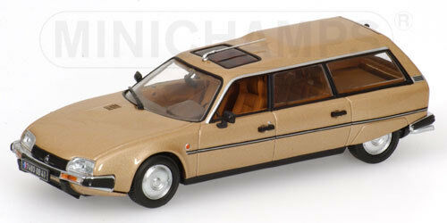 Citroen CX Break 1980 oro metallic  400111410 Minichamps 1 43