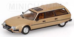 Citroen Cx Break 1980 Gold Metallic 400111410 Minichamps 1/43
