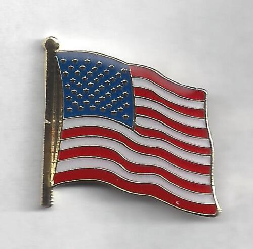 No C7082 US Flag Pin Patriotic BC Patch Cat
