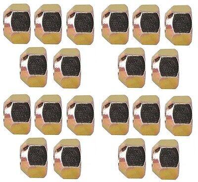"Steel Lug Nuts 5//8/"" Coarse 20pk 1/"" Socket Wheel IMCA UMP Course Racing lugs"