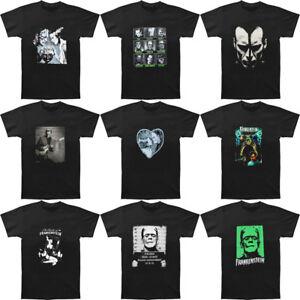 FRANKENSTEIN-T-shirt-Bride-Horror-Monster-Movie-Men-039-s-T-Shirt-Black