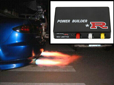 Exhaust Flame Thrower Kit Car Ignition Rev Limiter Launch Control Fire Controlle