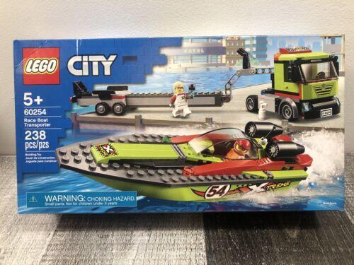 Free Shipping LEGO 60254 CITY Race Boat Transporter 238pcs NEW