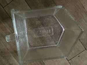 große Poncet Glasschütte Glas Schütte Pressglas Vorratsgefäße Schüttenregal