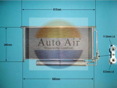Fit Avec Smart Roadster condenseur climatisation 16-1085 0.7 L