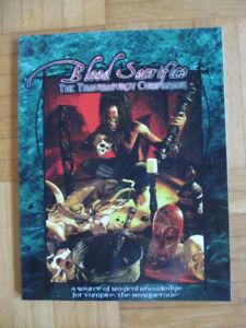 Vampire The Masquerade – Blood Sacrifice The Thaumaturgy Companion – Sourcebook