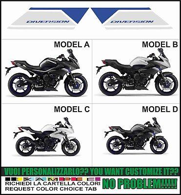 kit adesivi stickers compatibili XJ6 DIVERSION S 2013  2015