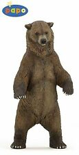 Papo 50153 Grizzlybär 12 cm Wildtiere
