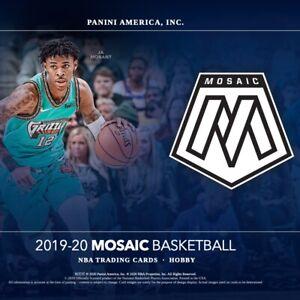 2019-20-Panini-Mosaic-Basketball-USA-Basketball-YOU-PICK