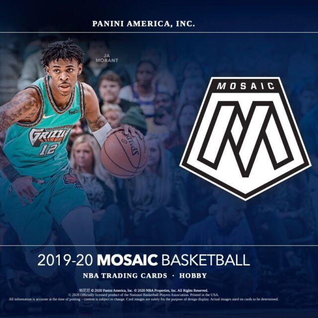 2019-20 Panini Mosaic Basketball USA Basketball YOU PICK