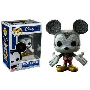 Mickey-Mouse-Diamant-Glitzer-US-Pop-Vinyl
