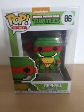 Teenage Mutant Ninja Turtles Raphael #06 Vinyl Figur POP 8-Bit
