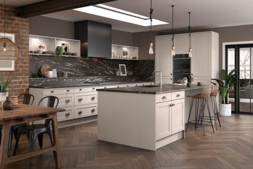 Premium Harvard Matt Dust Grey 19mm Shaker Style Kitchen Doors Cheapest