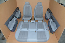 Audi A4 B9 8W Limousine Lederausstattung Leather Stoff Grau Sitz Leather Seat
