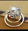 6-Bridal-Wedding-Prom-Gold-Silver-Crystal-Flower-Hair-Coils-Spirals-Twists-Pin