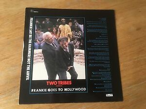 Frankie-Goes-To-Hollywood-Two-Tribes-War-vinyl-ZTT-1984-PLUS-7-034-Single
