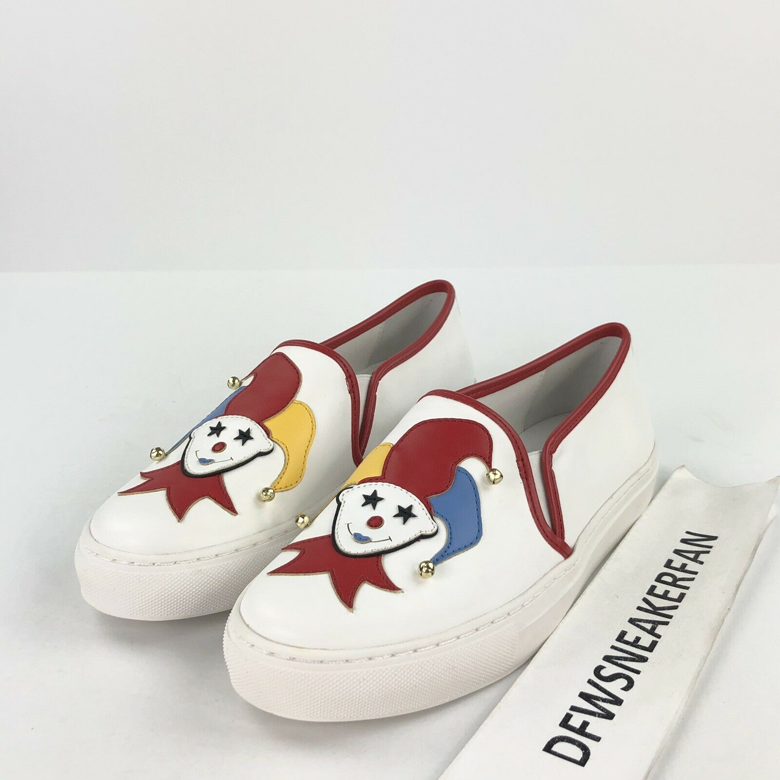 Katy Perry Collection The Mista Women's 6.5 Joker Jester Slip On  shoes KP0312