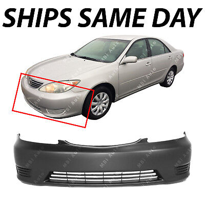 FOR TOYOTA 05-06 CAMRY FRONT BUMPER FOG LAMP OPENING  PRIMED LH NEW USA Built