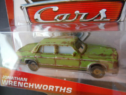 DISNEY PIXAR CARS JONATHAN WRENCHWORTHS 2013 SAVE 6/% GMC