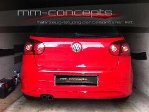 vw golf v 5 r32 hecksch rze heckansatz gti ed30 gt tdi. Black Bedroom Furniture Sets. Home Design Ideas