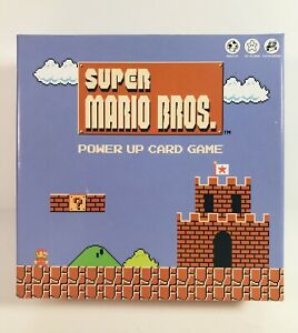 Super Mario Bros. Power Up Card Game Nintendo