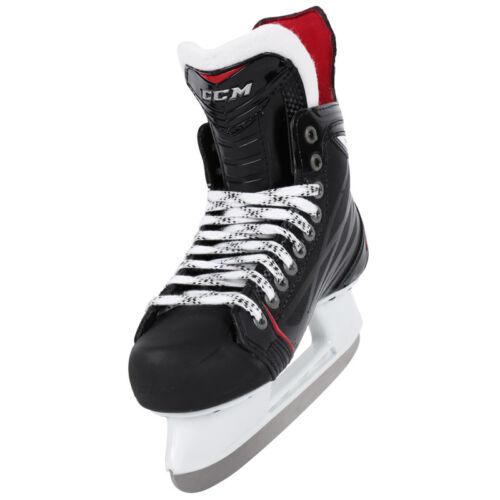 New CCM RBZ 60 ice hockey skates junior size 3 EE black wide width skate jr