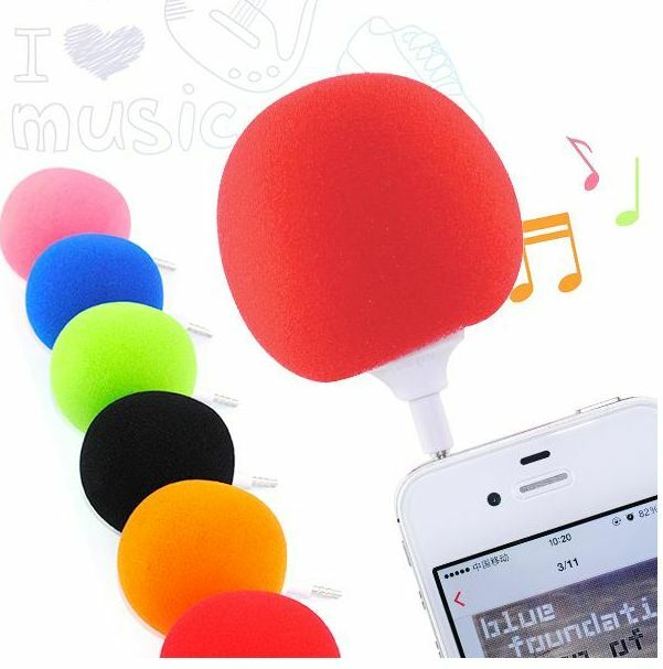 Mini Ball Speaker Balloon Mobile Audio Docks Cute Music Ball