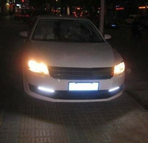 """Led Drl Fog Running Lights White 17cm 6.7/"""" For Ford Fiesta Mondeo Focus Ka"""
