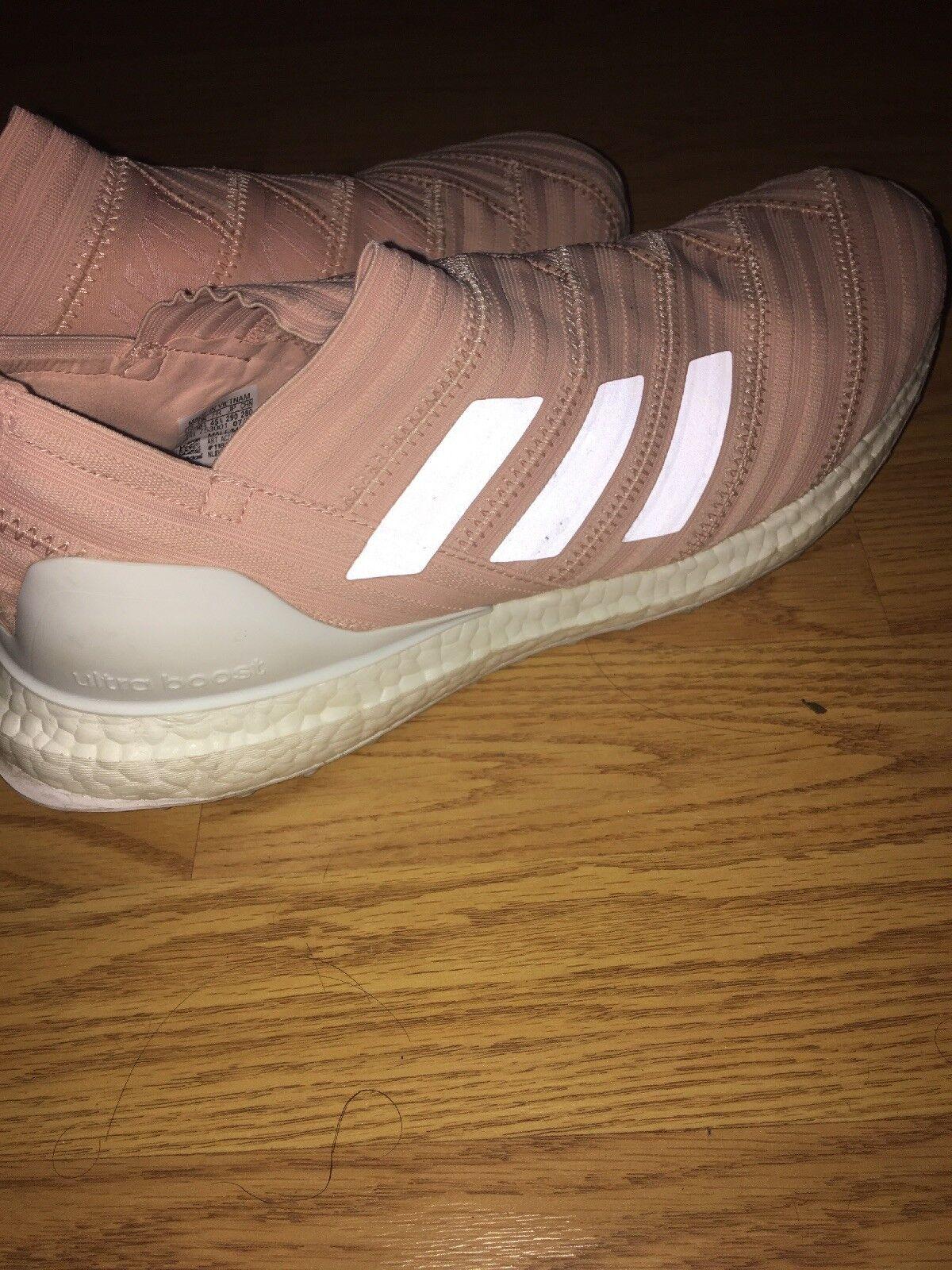 9fea522fa3ae Adidas Kith Nemeziz 17.1 17.1 17.1 Tango Ultraboost Pink Soccer Football  Shoe Size 11 7ce30a