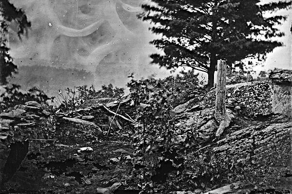 New 5x7 Civil War Photo Camp of Union Officers /& Men after Gettysburg Battle