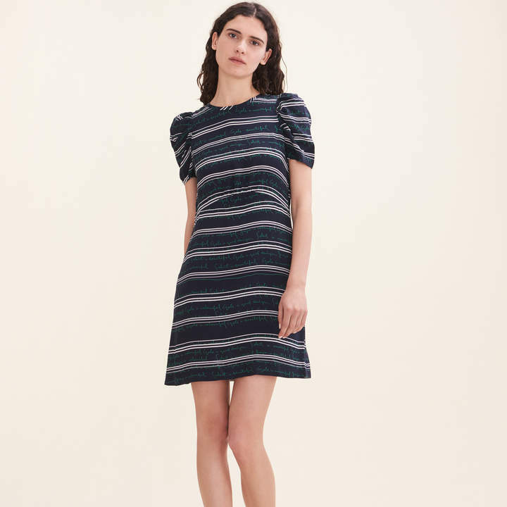 NWT Maje Short dress with all-over letteringsize 1