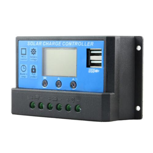 PWM LCD Solar Ladegerät Regler mit Stromanzeige 40A 12V-24V