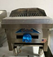 Castle 12 Countertop Natural Gas Charbroiler Grill Manual Controls Tested