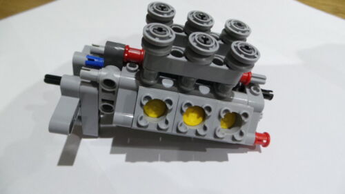 Lego Technic V6 Engine Pickup 42029 Complete Assembly 76 pieces *** NEW ***