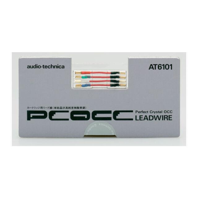 Audio-Technica AT6101 Headshellkabel / PCOCC-Anschlusskabel (Kupfer) NEU!