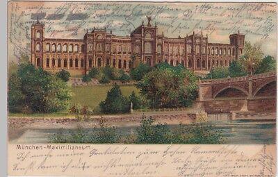 (101568) Ak München, Maximilianeum, 1901