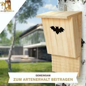 deintierhaus.de© Fledermaushaus Fledermaus Nistkasten Fledermauskasten